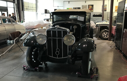 1929 Franklin 135 Rumble Seat