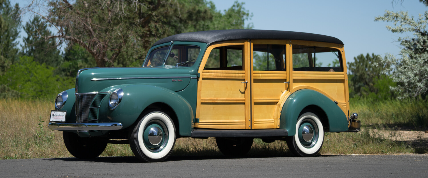 FOR SALE - 1940 Ford Deluxe Station Wagon Woodie