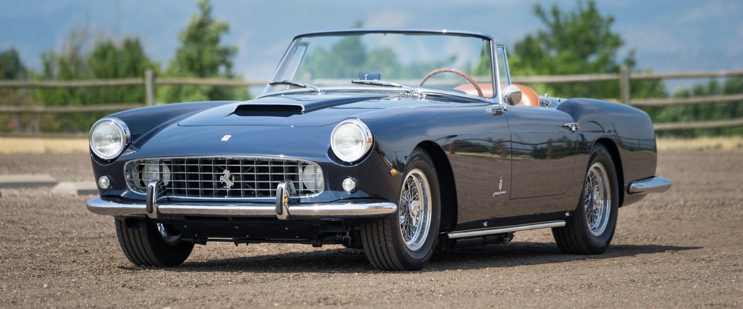FOR SALE - 1961 Ferrari 250GT PF Cabriolet