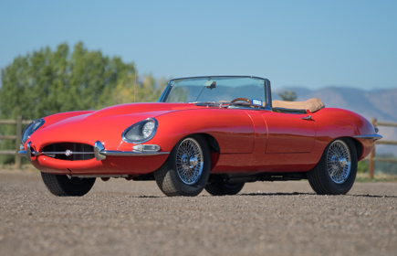 1967 Jaguar XKE Convertible Red