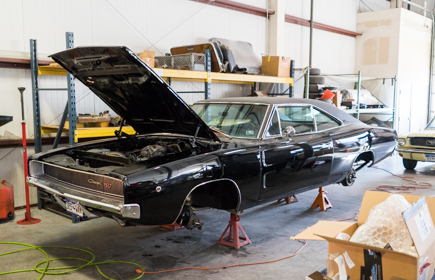 1968 Dodge Charger RT Black