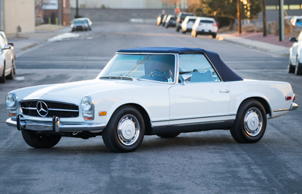 1969 Mercedes-Benz 280SL White