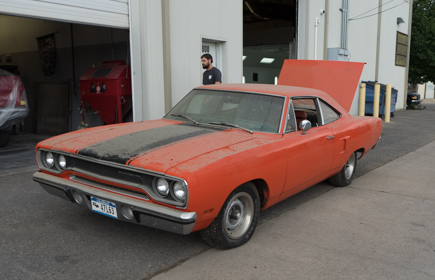 1970 Plymouth Roadrunner Barn Find