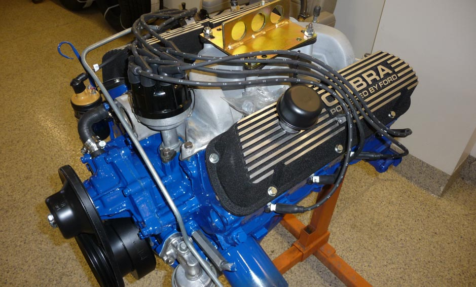 1968 Shelby GT350 Engine